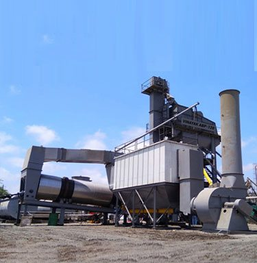asphalt batching mix plant