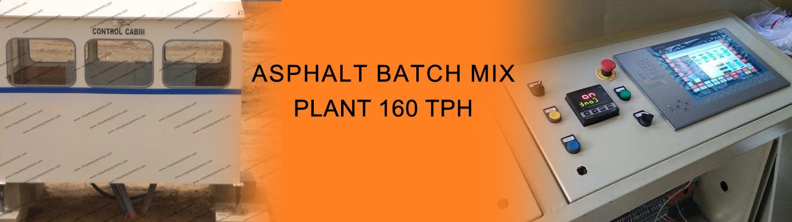 Batching Plant Manufacturer, Batch Type Asphalt Plant Process